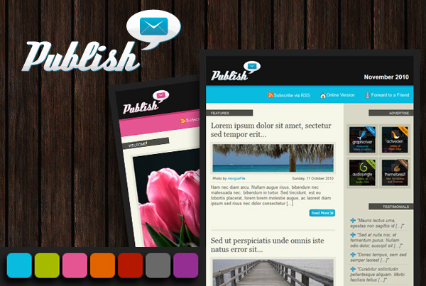 Publish Email Template