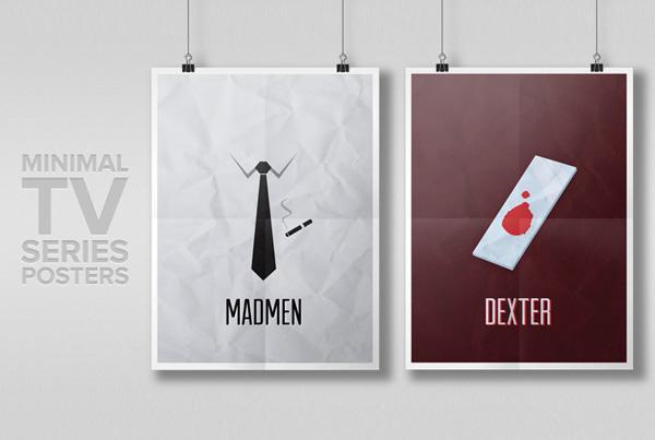 Minimal TV Series Posters